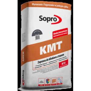 Sopro KMT - Кладочный состав и затирка для клинкерного кирпича, 25 кг