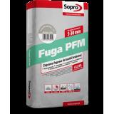 Sopro PFM – Раствор для затирки швов в брусчатке и тротуарной плитке от 5 до 30 мм, 25 кг.