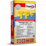 Sopro TF+ - Высокопрочная фуга для швов от 1 до 10 мм, 15 кг.
