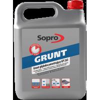 Sopro GP 263 - Грунтующий препарат глубокого проникновения, 1-5 литра.