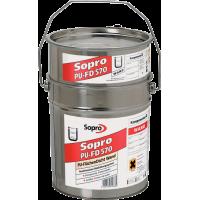 Sopro PU-FD – 2-х компонентная полиуретановая гидроизоляция, для сложных условий, 5 - 30 кг.