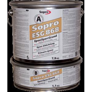 Sopro ESG 868 - Эпоксидный грунт для влажных оснований, 9-18 кг.