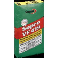 Sopro VF 419 – Эластичный, быстротвердеющий клеевой раствор для полов, 25 кг.