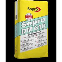 Sopro DM 610 – Дренажный раствор для укладки натурального камня, 25 кг