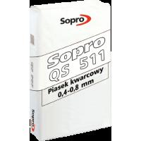 Sopro QS 511 – Песок кварцевый с фракцией 0.4-0.8 мм, 25 кг.