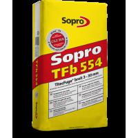 Sopro TFb – Титановая, высокопрочная затирка от 3 до 30 мм, 25 кг.